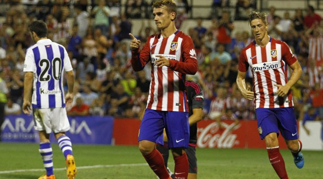 Muted celebrations from Griezmann against his former club