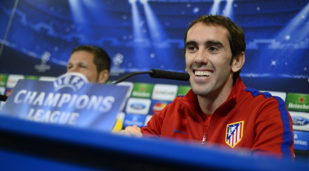 Godín delighted to renew with Atlético