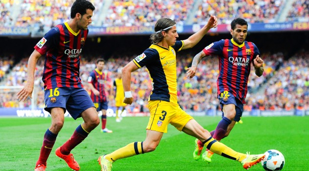 Filipe Luís returns to play in first Barcelona game since title triumph