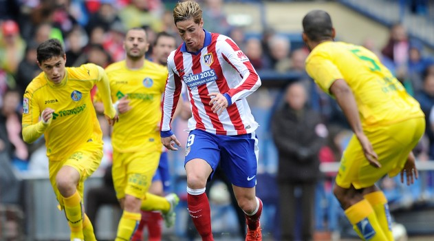 Torres has four goals in his last four games against Getafe