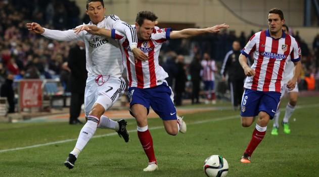 Saúl enjoyed a fantastic game against Real Madrid last season