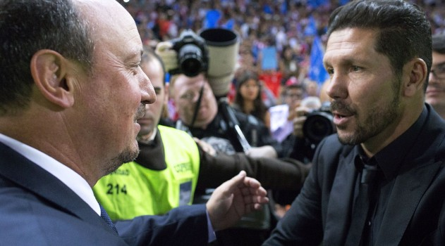 Benitez and Simeone faced each other for the first time