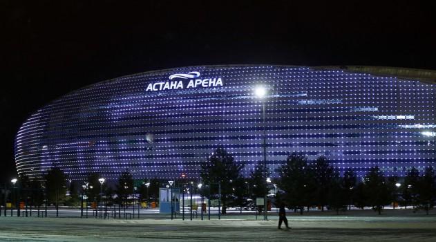 Astana's modern 30,000 seater stadium