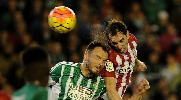 Godín was heroic in defence against Betis