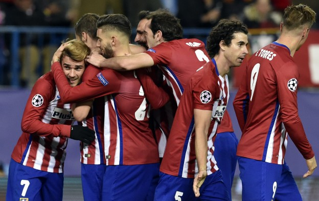 Atleti were comfortable winners over Galatasaray