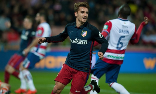 Griezmann on form once more against Granada