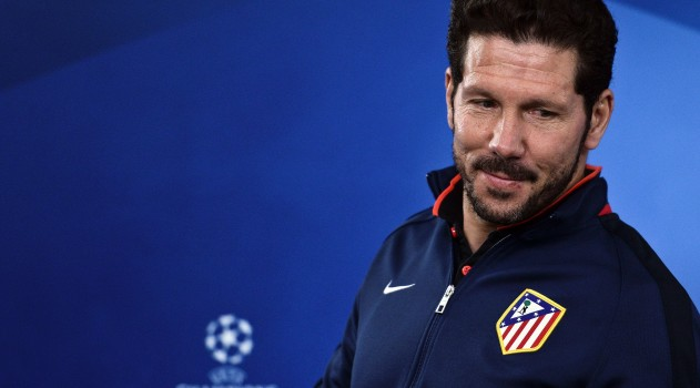 Simeone prepares for tonight's match