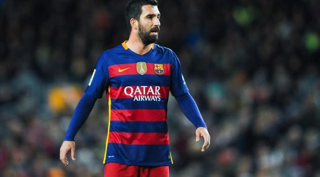 Arda Turan has had few chances to impress so far for Barcelona