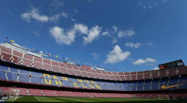 Huge match in prospect at the Camp Nou