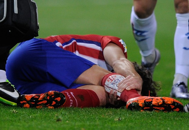 Tiago picked up an injury back in November