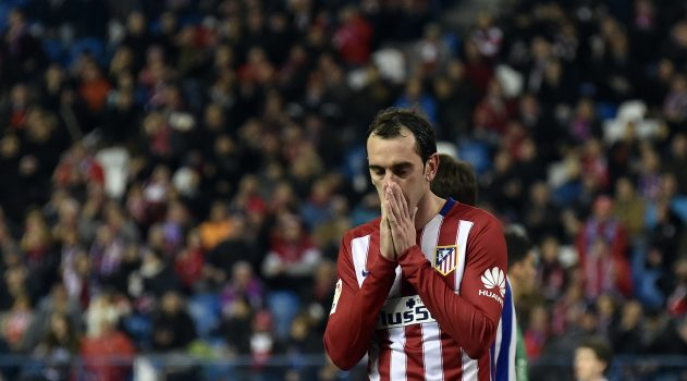 Godín was injured against Athletic at San Mamés