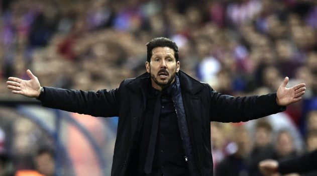 Atleti have 10 days to appeal Simeone's ban