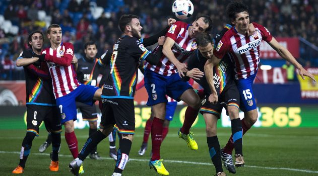 Atleti have already beaten Rayo once at the Calderón this year