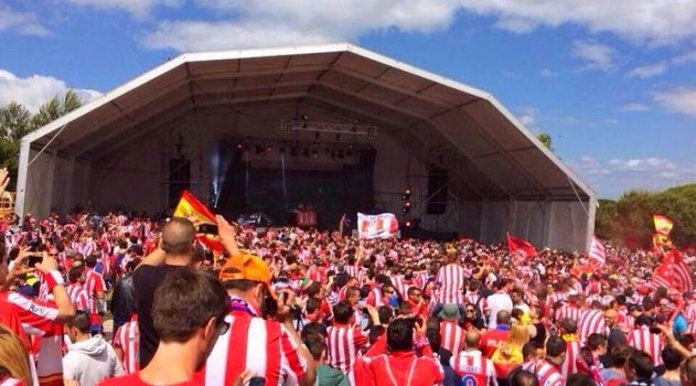 The Fan Zone in Lisbon two years ago