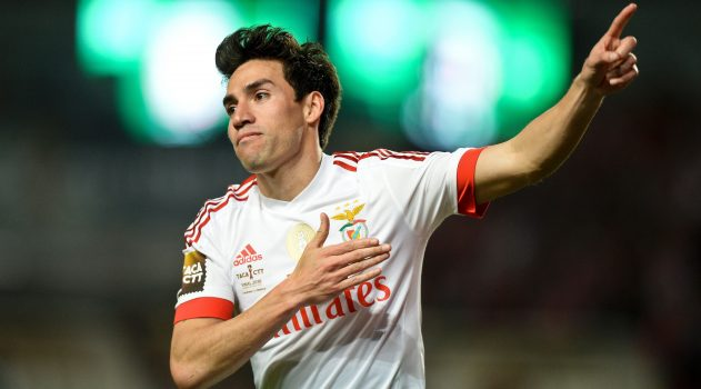 Gaitán has spent the last six seasons at Benfica