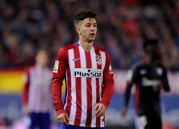 Luciano Vietto plays for Atlético against Athletic Bilbao