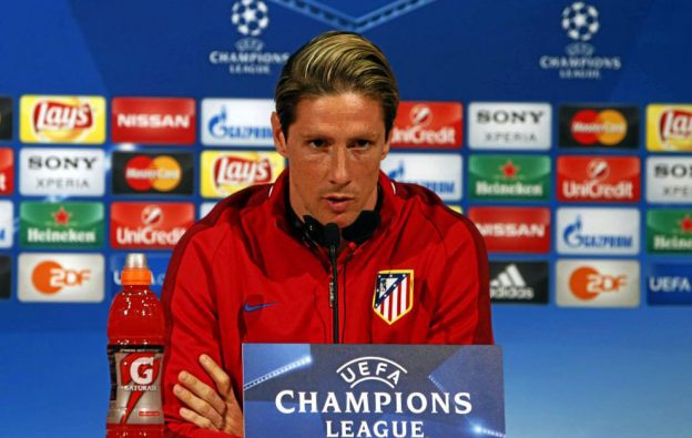 Fernando Torres says it would be a childhood dream come true to win with Atleti