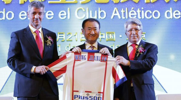 Wanda purchased a 20% stake in Atlético last year