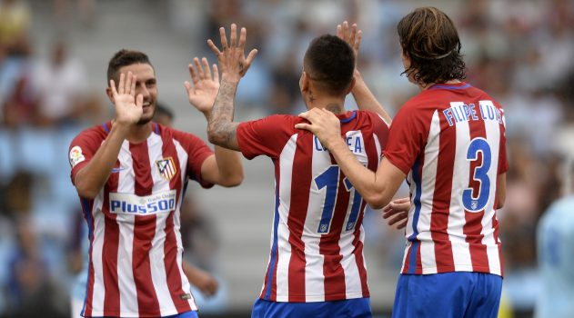 Atleti ran riot in the second half