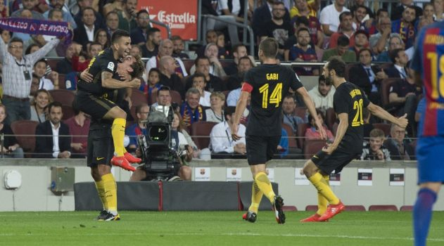 Atlético frustrated Barça with a determined performance