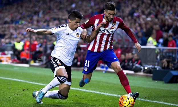Carrasco scored against Valencia home and away last season