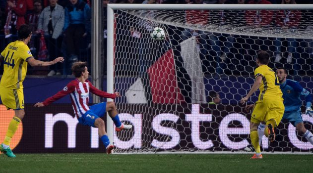 Griezmann opened the scoring with a deft finish