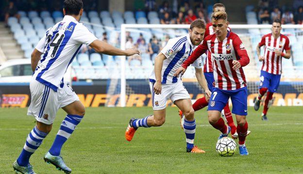 Atleti won 2-0 at Anoeta last season