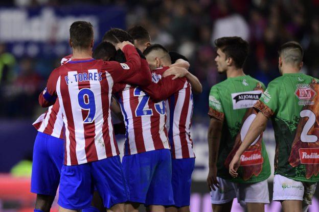Straightforward win for Atlético
