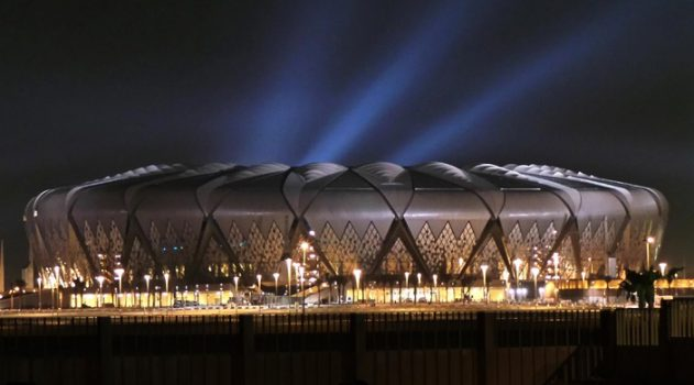 The King Abdullah Sports City stadium opened in 2014