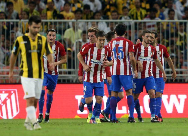 Atlético too strong for Al-Ittihad