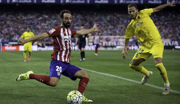 Juanfran plays in midfield yet again