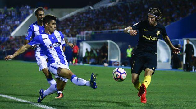 Leganés held Atleti to a 0-0 draw earlier in the season