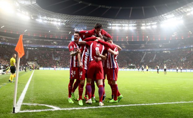 Atleti in command after first leg win