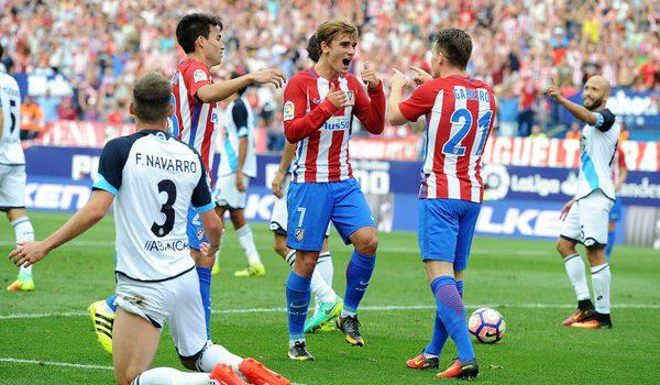 Atleti on their last win (1-0) against Dépor.