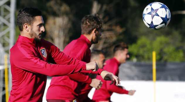 Atleti prepares to face Bayer, hoping to qualify and advance on the Champions League.